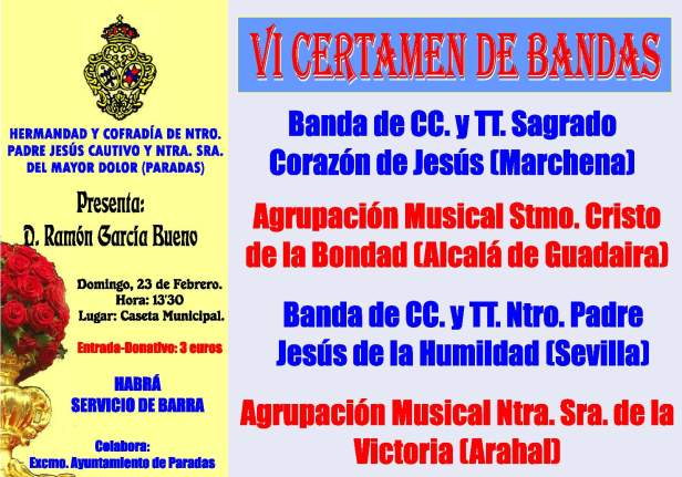 cartel bandas 2014