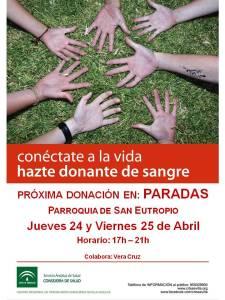 2014.04 CARTEL DONACIÓN SANGRE