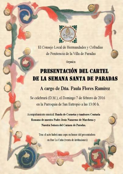 presentaion cartel